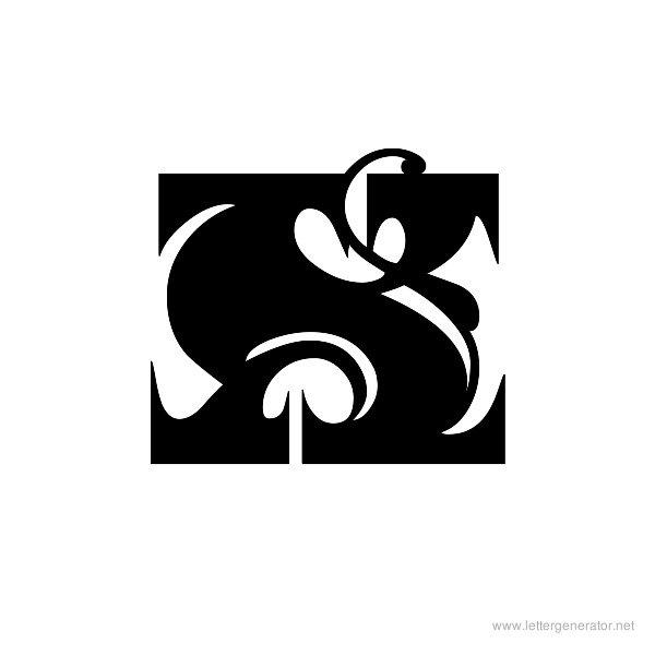 Fantastic MF Font Alphabet X
