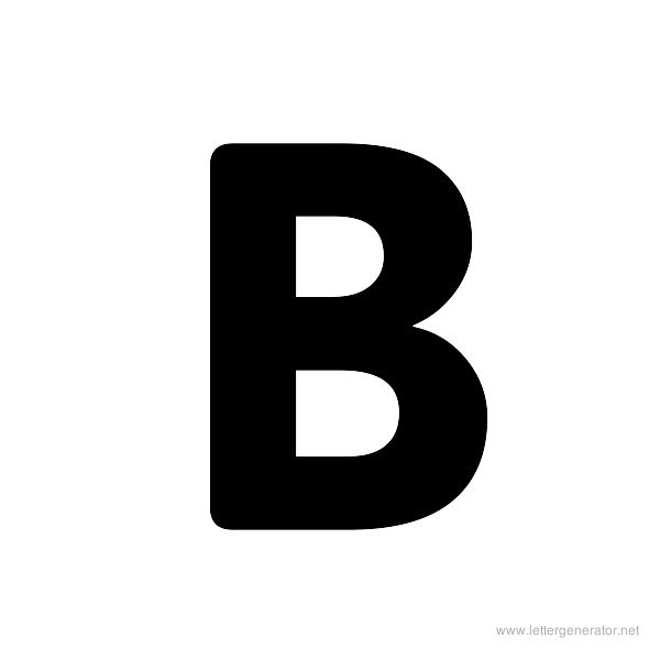 Bold Alphabet Gallery - Free Printable Alphabets | LETTER GENERATOR NET