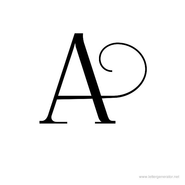 picture about Printable a identified as Attractive Alphabet Gallery - No cost Printable Alphabets