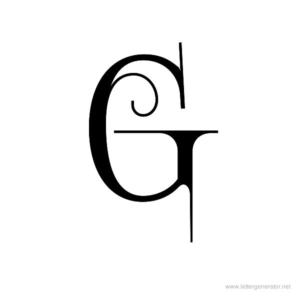 Letter G Font Altin Northeastfitness Co