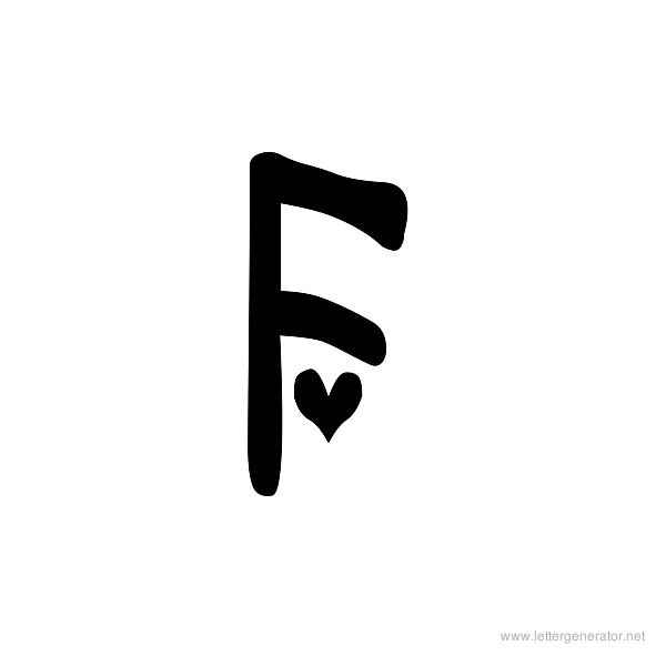 Fancy Letter F Font The Letter F In Different Fonts