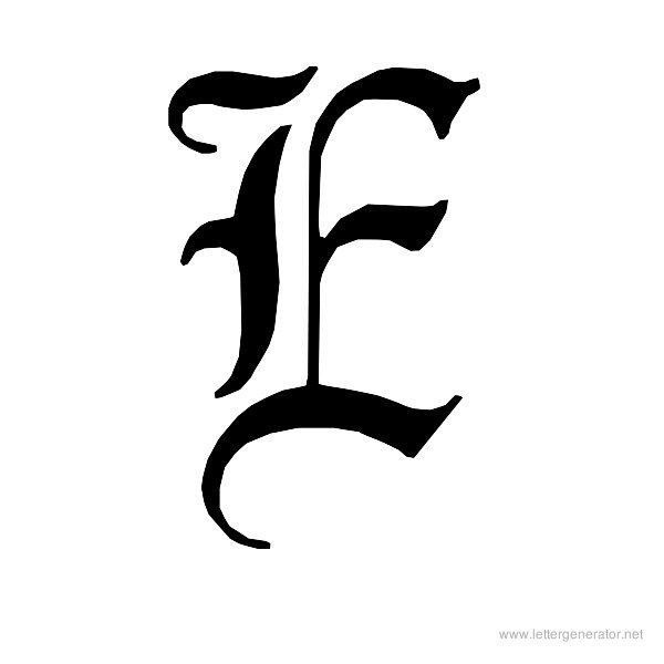 image regarding Printable Old English Letters named Previous English Alphabet Gallery - Free of charge Printable Alphabets