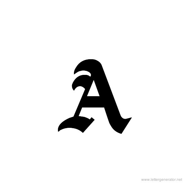 image regarding Printable Old English Letters titled Outdated English Alphabet Letters Toward Print - Photographs Alphabet
