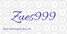 Zues999